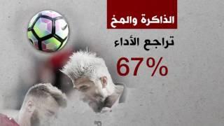 ضرب الكرة بالرأس قد يؤدي إلى الإصابة