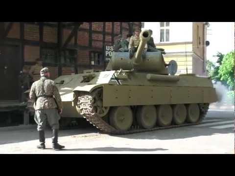 Panther tank replica  in Łabiszyn