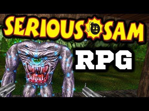 Крутой СЭМ РПГ? Serious Sam RPG? - Мод Serious RPG