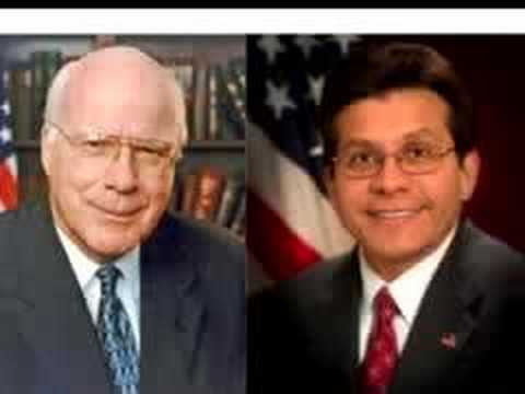 Patrick Leahy questioning Alberto Gonzales about Maher Arar