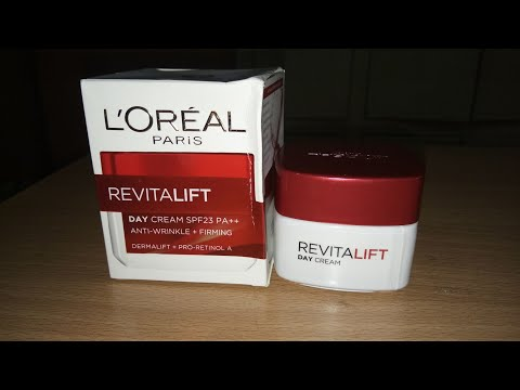 Review Of Loreal Paris Revitalift Day Cream SPF 23 PA++