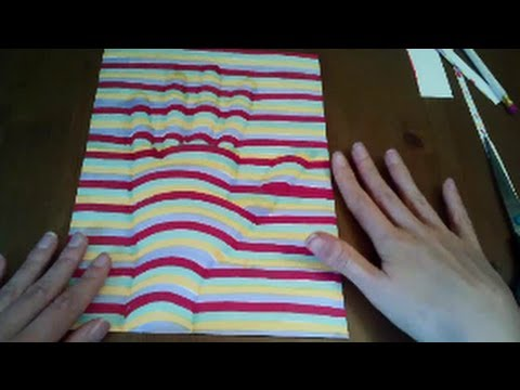 Drawing 3D ILLUSION - ASMR soft spoken - great sound!
