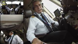 Watch Captain Otello lifting of his 200-ton-Boeing 767-300ER: Cockpit MULTICAM! [AirClips]