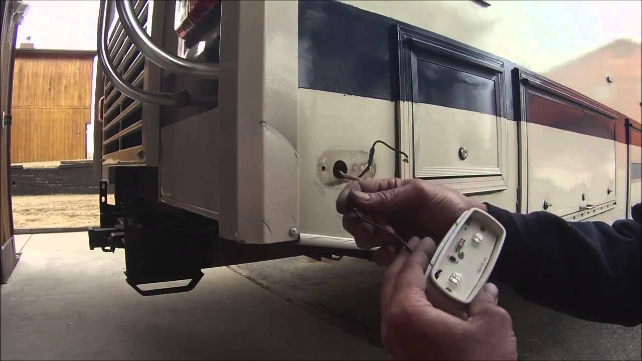 Installing led marker lights on the motorhome youtuberhyoutube, motor home lights youtube premiumstyoutube