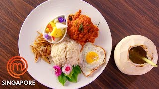 How To Make A Curry Dish In 75 Minutes! | MasterChef Singapore | MasterChef World