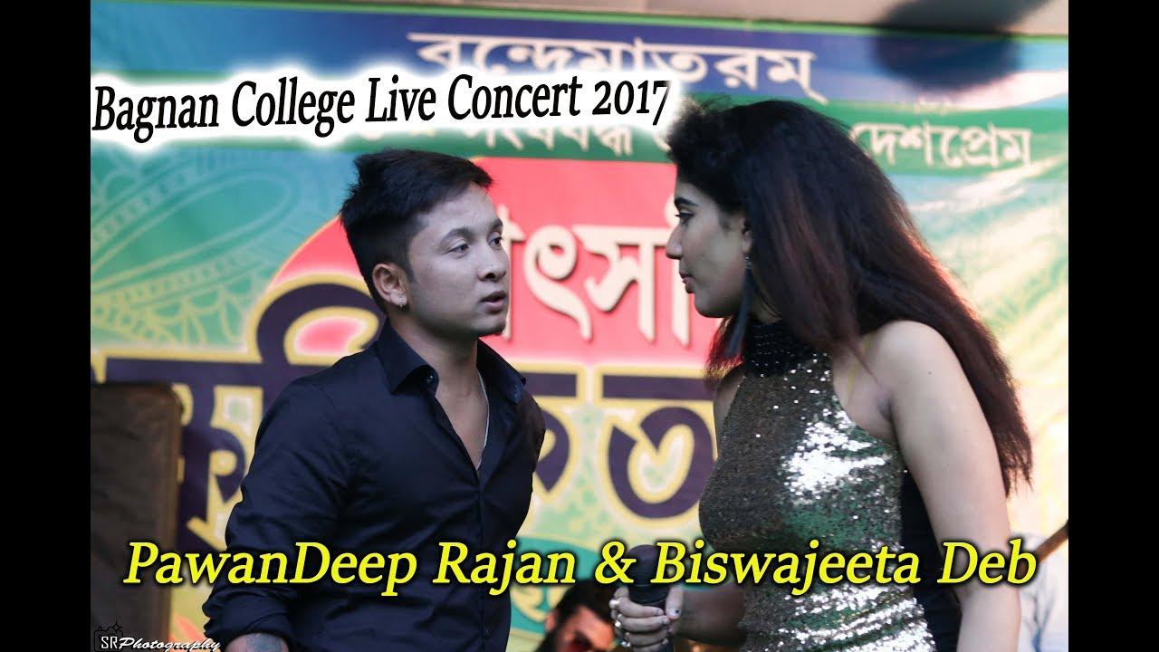 Bagnan College Social Biswajeeta Deb Pawandeep Rajan Duo Live