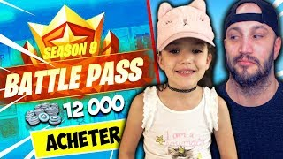 I OFFER THE COMBAT PASSE TO MY SIHAM FILLE! FORTNITE BATTLE ROYALE
