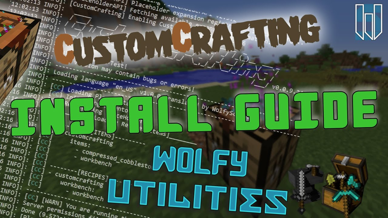 CustomCrafting | Advanced Custom Recipe Plugin [MySQL] [1 13