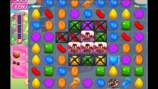 Candy Crush Saga Level 743 - No Boosters