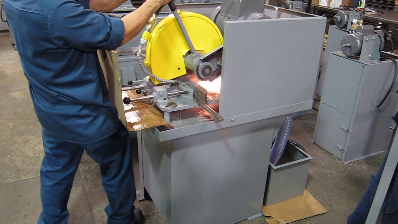 kalamazoo industries k12 14w 14 wet abrasive chop saw cutting bar
