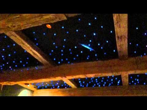 Shooting Star Fiber Optics Ceiling