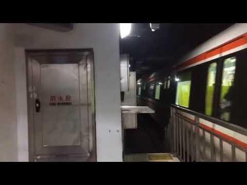杭州地铁2号线悦读专列在人民广场折返 Hangzhou Underground China