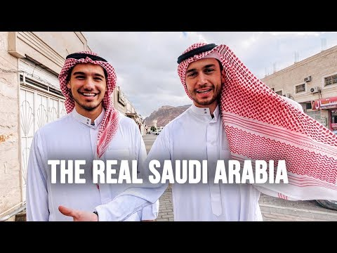 Visiting the REAL SAUDI ARABIA