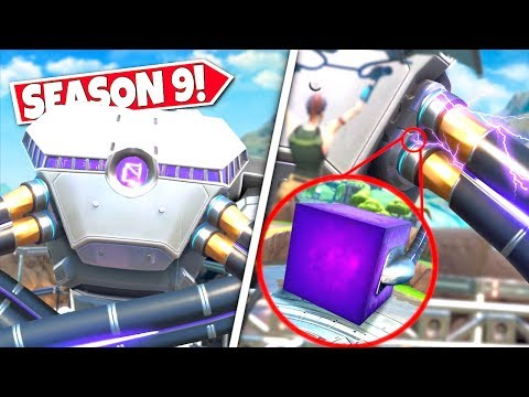 *NEW* GIANT ENERGY CABLES *CONNECTED* REVEALS ROBOT NOW POWERED BY THE CUBE! SEASON 9 UPDATE!: BR