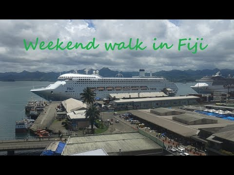 Weekend walk in Fiji