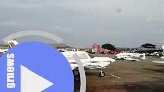 Temporal e ventania destroem hangar e causam danos no Aeroclube de Pará de Minas