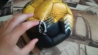 Не качественный мяч от С М