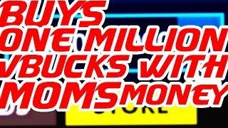 Kid vole la carte de crédit de maman pour acheter 1 MILLION de Vbucks à Fortnite (Réaction!)