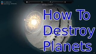 Planetary Annihilation Beta Tutorials : How to Destroy Planets