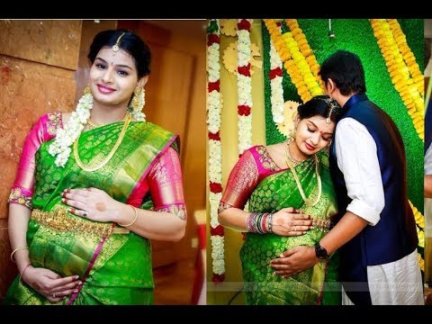 Singer Krishna Chaitanya And Mrudula Seemantham Function Video