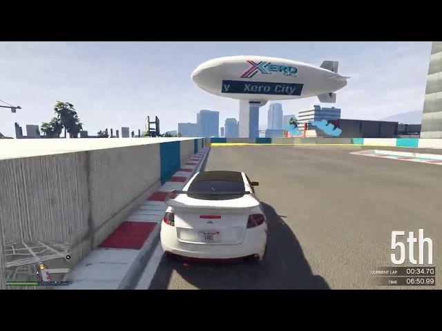 GTA Online Race: Xero City 2.0 - link in description