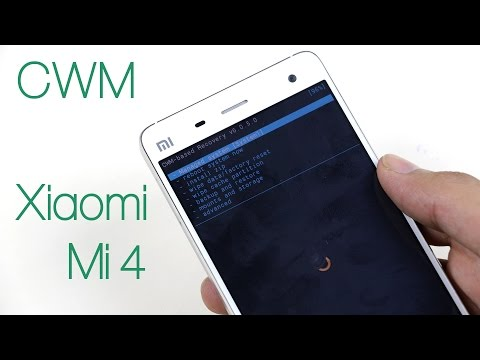 How to install ClockworkMod (CWM) Recovery on Xiaomi Mi4