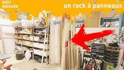 un rack à panneaux pour ma grotte - miniEpisode