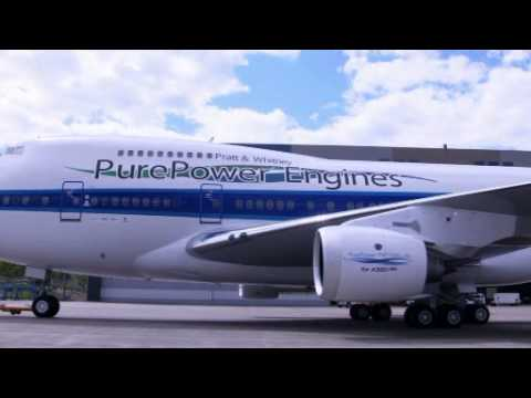 Pratt & Whitney PurePower PW1100G-JM Engine First Flight