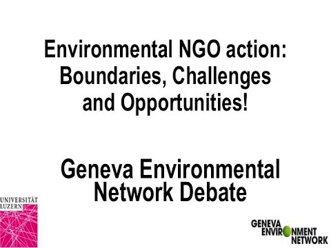 Environmental NGO Action: Boundaries, Challenges and Opportunities (PART 2)