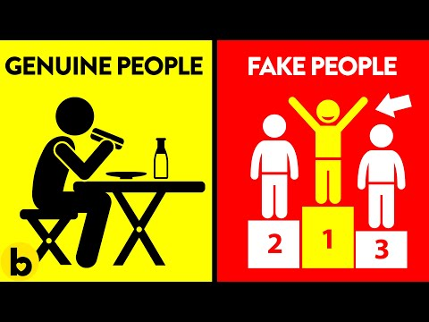 8 Differences Between Genuine & Fake People