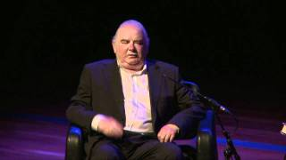 Peter Ackroyd, writer of Foundation speaking at Royal Festival Hall Part 1