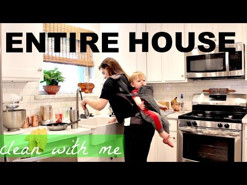CLEAN WITH ME | ULTIMATE CLEANING | ENTIRE HOUSE
