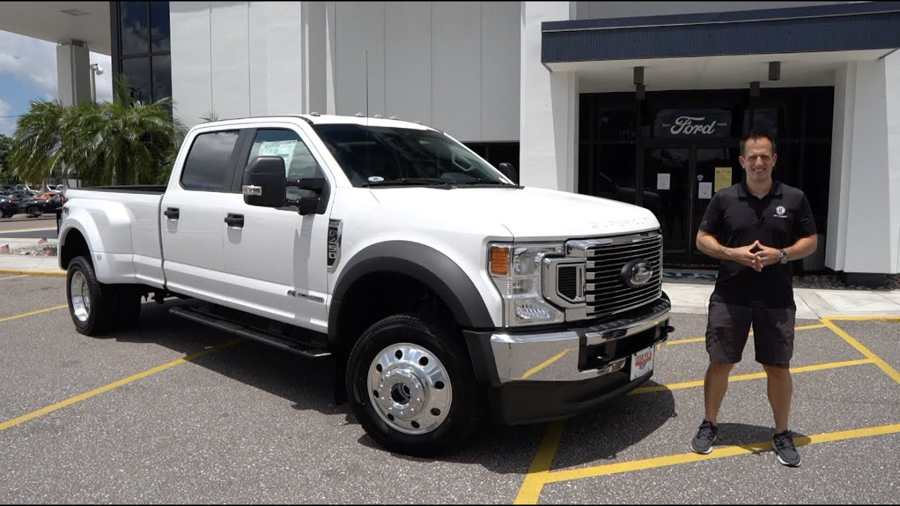 Why is the 2020 Ford F-450 Super Duty the ULTIMATE truck to tow with?