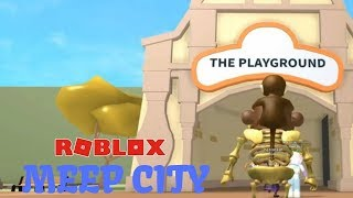 ROBLOX MEEP CITY: Things You See in the Playground
