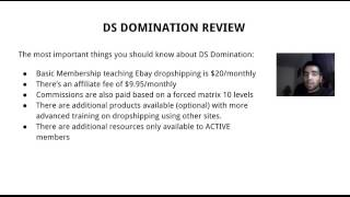 DS Domination Review - Is It A Scam?