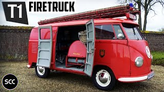 (HD) SCC: Volkswagen Type 2 T1 Transporter Double Door Panel Van 1956 - Test Drive - Probefahrt