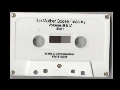 Mother Goose Treasury Volumes 3 and 4 Cassette Tape