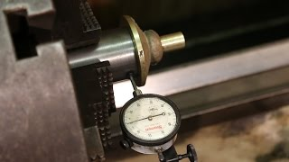 Victor Safe Restoration 9:  Machining a Fixture to Hold the Dial for Turning on the Lathe