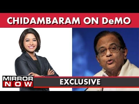 Former Union Minister P Chidambaram Speaks To Faye D'Souza On Aadhaar And Demonetisation