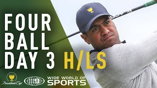 Day 3 Four Ball Highlights - Presidents Cup 2019 | Wide World of Sports