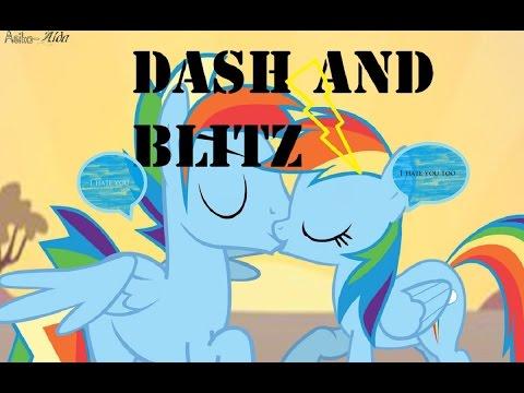 Rainbow Dash And Rainbow Blitz