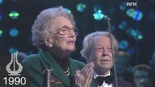 Marie Foss og Torstein Grythe vinner Juryens Hederspris (Spellemannprisen 1990)