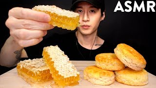ASMR RAW HONEYCOMB MUKBANG (UNBOXING & EATING + CRUSHING SOUNDS) No Talking | Zach Choi ASMR