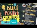 Membuat Poster mudah, menarik, dan kreatif pakai Canva APK| Ga jago Photoshop atau Corel Draw