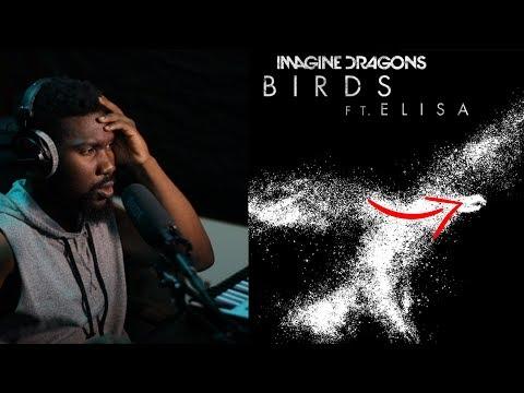REACTION | Imagine Dragons - Birds (Audio) ft. Elisa
