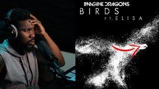 REACTION Imagine Dragons Birds Audio ft Elisa
