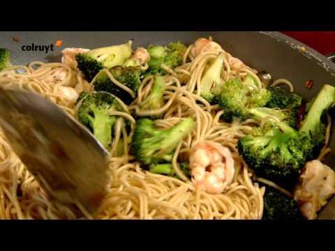recette-nouilles-aux-scampis-et-au-brocoli---colruyt
