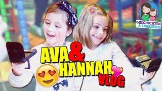 Hannah + Ava = Beste Freunde 😍VLOG im Indoor Spielplatz mit SPIELZEUGTESTER | Geschichten&Spielzeug