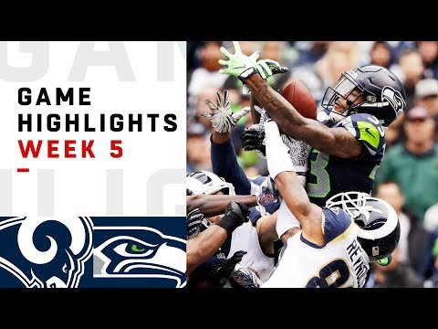 Rams vs. Seahawks Week 5 Highlights | NFL 2018
