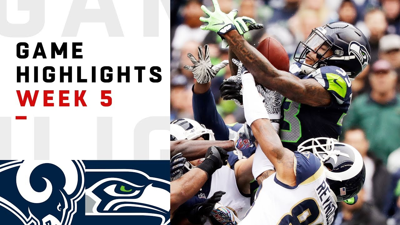 Rams Vs Seahawks Week 5 Highlights Nfl 2018 Youtube